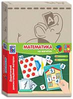 Дидактический демонстрационный материал с магнитами Математика (укр), Vladi Toys (VT3701-07)