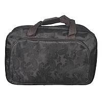 Жіноча сумка-саквояж середнього розміру для  подорожей -Вензель