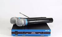 Микрофон  DM EW 100, беспроводной микрофон для вокала, микрофонная профессиональная радиосистема