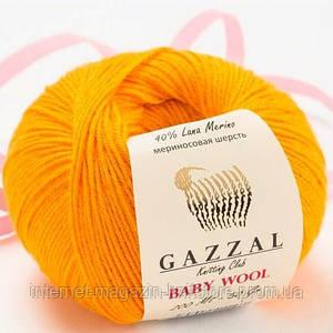 Пряжа Gazzal Baby Wool Оранжевый