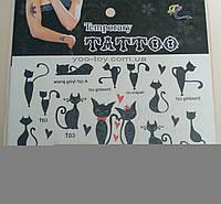 Татуировка смываемая Кошечка