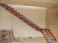 Каркасы простых лестниц