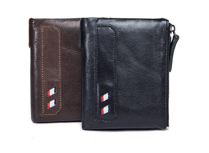 Мужской кошелек с натуральной кожи