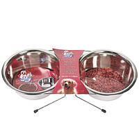 Миски Karlie-Flamingo Dinner Set для собак на подставке, 3 л