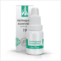 Жидкий пептидный комплекс № 19 для метеозависимых и кардиобольных