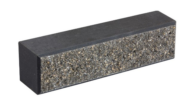 Кирпич облицовочный LAND BRICK колотый черный 250х60х65 мм