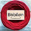 Ленточная пряжа Бобилон, цвет рубиновый