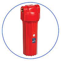 """Колба 10"""" (натрубный корпус) для горячей воды FHHOT34-HPR-S с клапаном"""