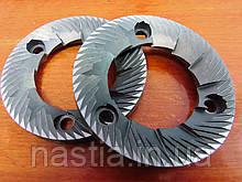 NB008/1 Ножі(пара), 64x38x9(праві, 3 отвори, широкий шаг), Bianchi