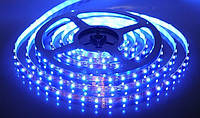 SMD 3528 светодиодная лента 5м Blue 300 диодов Синяя