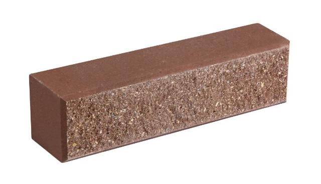 Кирпич облицовочный LAND BRICK колотый молочный шоколад 250х60х65 мм