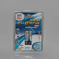 Аккумуляторы Энергия AAA HR03 Ni-MH 1000mAh 1.2V 2/20/200шт