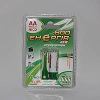 Аккумуляторы Энергия АА HR6 Ni-Cd 600mAh 1.2V 2/20/200шт