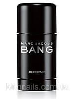 Мужской дезодорант стик MARC JACOBS BANG, 75 мл.