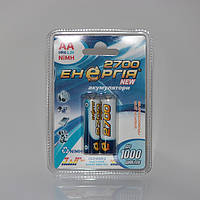 Аккумуляторы Энергия АА HR6 Ni-MH 2700mAh 1.2V 2/20/200шт