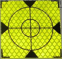 Геодезическая марка / пленочный отражатель самоклеящийся 100x100мм