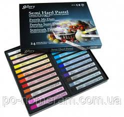 Пастель сухая Mungyo, ассорти, 24 цветов MPL-24
