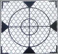 Марки геодезические / пленочный отражатель самоклеящийся 100x100мм