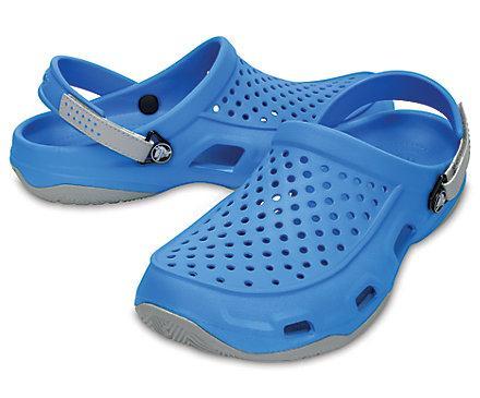 Кроксы мужские шлепанцы Свифтвотер Дек Сабо оригинал / Crocs Men's Swiftwater Deck Clog