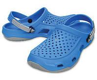 Кроксы мужские шлепанцы Свифтвотер Дек Сабо оригинал / Crocs Men's Swiftwater Deck Clog, фото 1