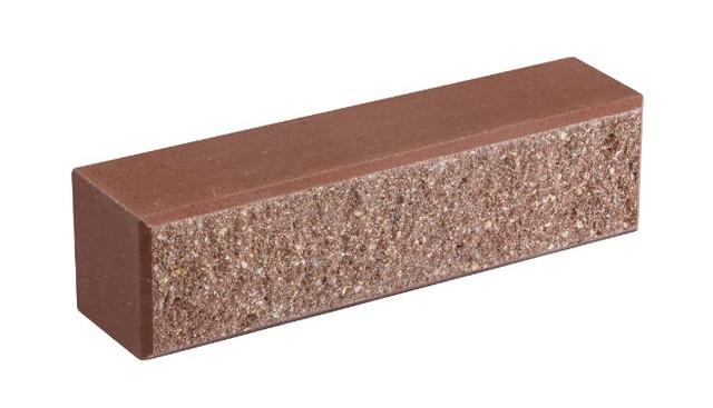 Кирпич облицовочный LAND BRICK колотый лесной орех 250х60х65 мм