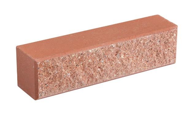 Кирпич облицовочный LAND BRICK колотый розовый 250х60х65 мм