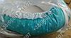 Детский кокон позиционер для новорожденных (бирюзовые расцветки), фото 2