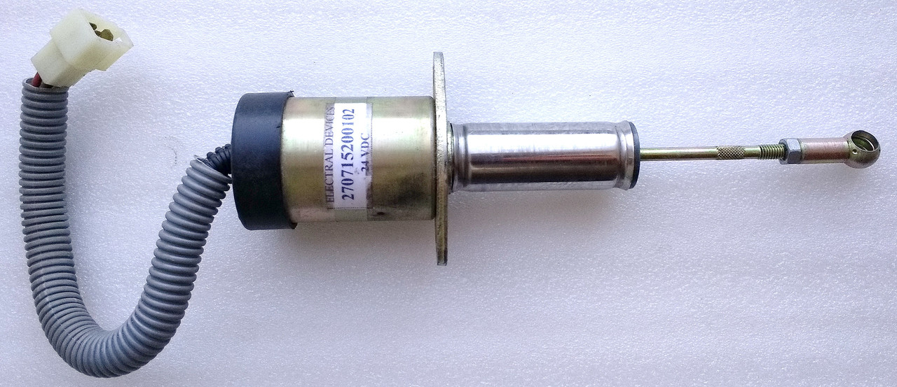 Соленоид остановки двигателя 24V (613 EI,613 EII,613 EIII) TATA MOTORS