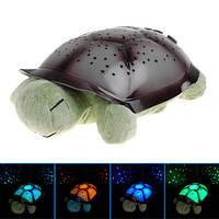Плюшевый музыкальный ночник Черепаха Turtle small Звёздное небо 0244 XX