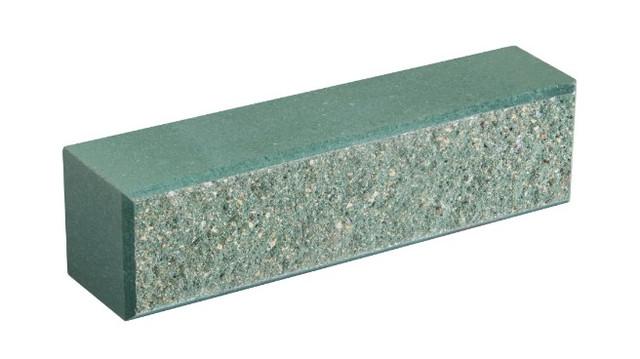 Кирпич облицовочный LAND BRICK колотый зеленый 250х60х65 мм