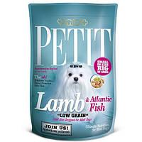 Petit Adult с ягненком и атлантической рыбой для взрослых собак, 1,5кг