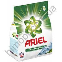 """Стиральный порошок """"Ariel Mountain Spring"""" 3кг 40ст (Ариель)"""