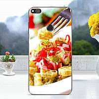 Чехол накладка для Huawei P8 Lite (2017) / Honor 8 Lite силиконовый, Итальянская паста