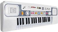 Синтезатор детский с микрофоном MQ-3709