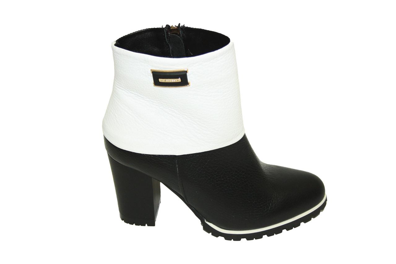 Полуботинки женские на каблуке / boots for women 80173-18