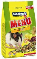 Vitakraft PREMIUM MENU - корм для крыс 400г (25656)