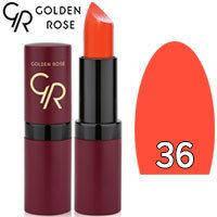 Губная помада матовая Golden Rose Velvet Matte Lipstick Тон 36 Apricot
