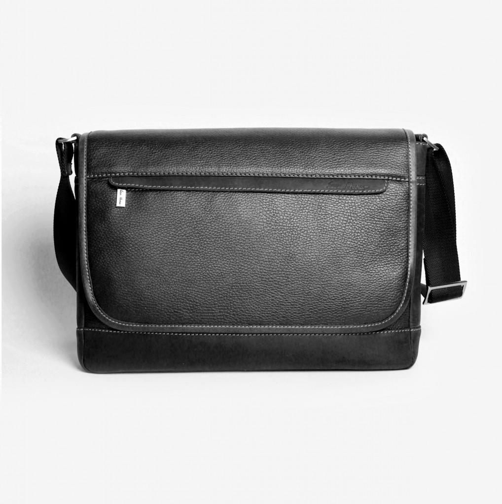 Кожаная мужская сумка Issa Hara BМ5