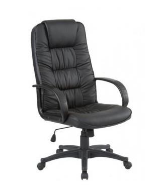 Кресло Спарк HB кожзаменитель чёрный (J-01H PU Black) тм AMF.