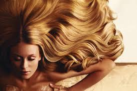 Красивые волосы.