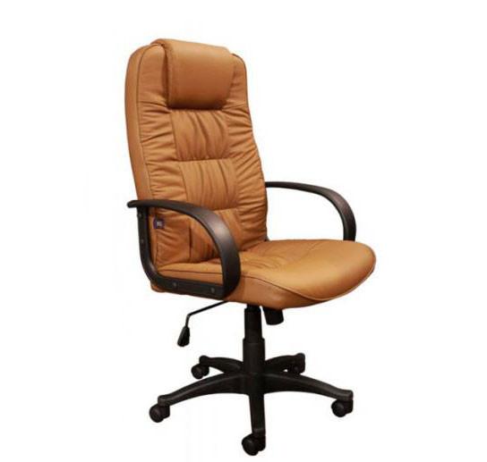 Кресло Спарк HB кожзаменитель коричневый (J-01H PU Brown) тм AMF.