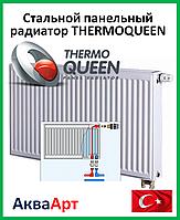 Стальной радиатор Thermoqueen нижнее подключение 22VК*500*1100