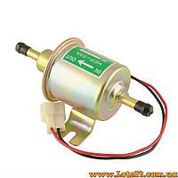 Бензонасос электрический низкого давления на карбюратор HEP-02A