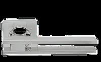 Ручка дверная на розетке Armadillo Bristol матовый никель (Китай)