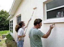 Краски для бетонных и каменных оснований
