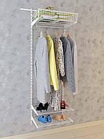 Гардеробная система. Система хранения (консоль, стеллаж) 600-20-001. ТМ Кольчуга (Kolchuga)