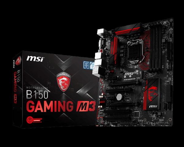 Материнская плата MSI B150 Gaming M3