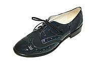 Туфли женские, лакированная кожа с замшей / shoes 10168 - 03 / 05, фото 1