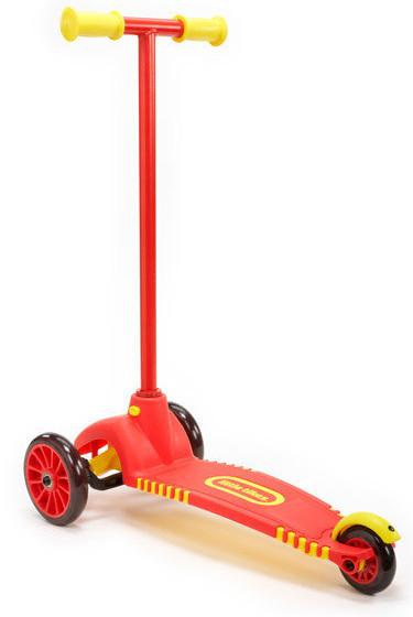Детский трехколесный самокат Little Tikes 640094 с поворотными колесами