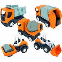 Машинка Wader Tech Truck 5 моделей